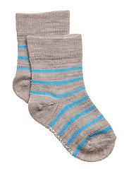 Wool socks - GREY/BLUE