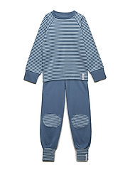 2-piece pyjamas - SOFT BLUE/BLUE