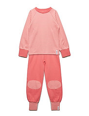 2-piece pyjamas - SOFT RED/PEACH