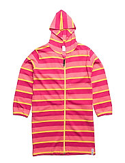 Bathrobe - PINK/YELLOW/CERISE