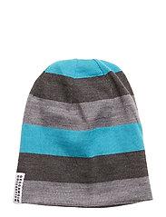 Wool cap - GREY/BLUE