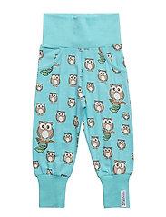 Bamboo pant Owl - BLUE
