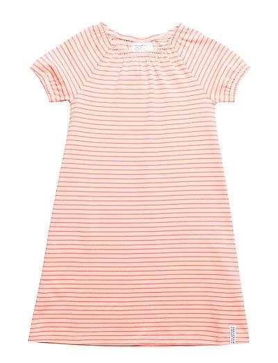 Singoalla dress - PEACH/SOFT RED