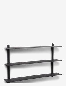 Nivo shelf A - hyller & oppbevaring - black/ash/black