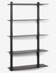 Nivo shelf  E - hyller & oppbevaring - black/ash/black
