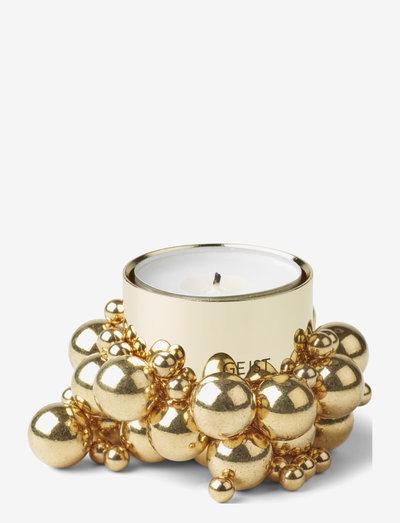 Molekyl tealight 1 - lyslykter - brass