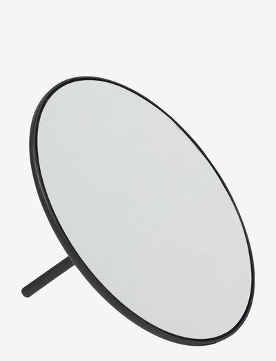 Io hand mirror - baderomsspeil - black