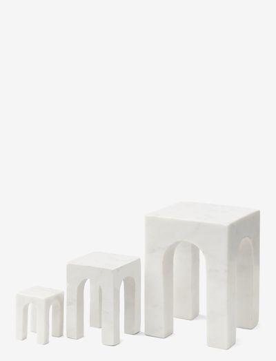 Arkis Bookend set - bokstøtter - white
