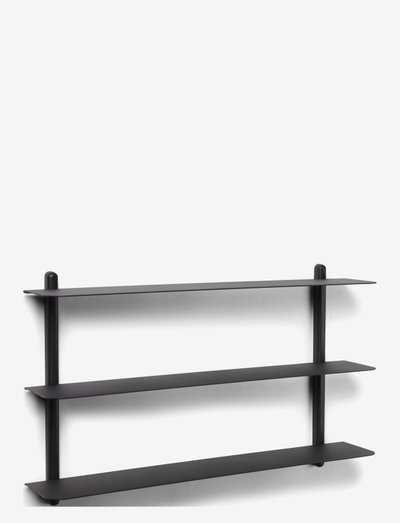 Nivo shelf A - hylder - black/ash/black