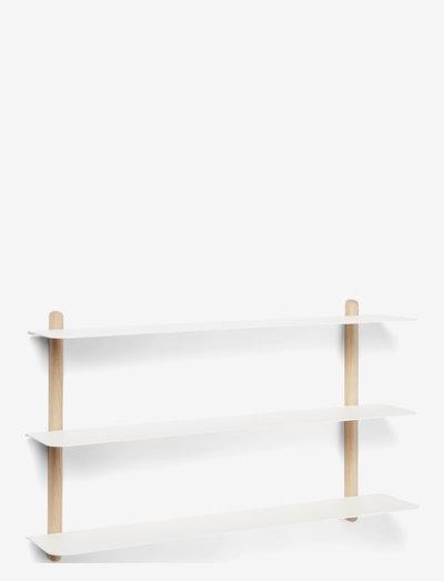 Nivo shelf A - hylder - bright oak light