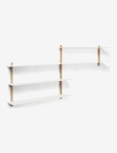 Nivo shelf B - hylder - bright oak light