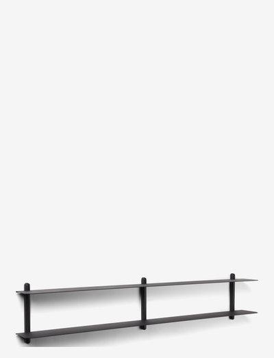 Nivo shelf C - hylder - black/ash/black
