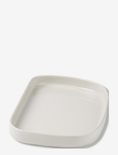 Galet dish - serveringsfat - light grey