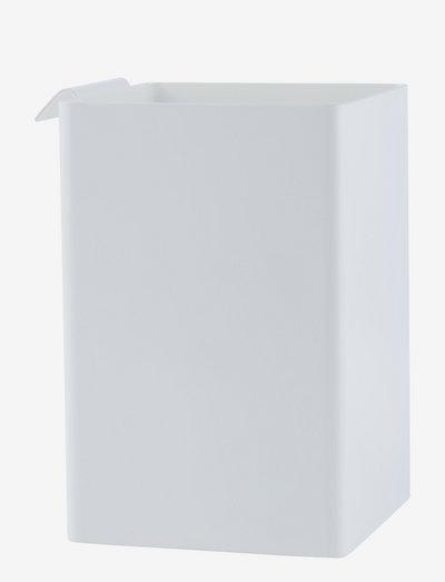 Flex box - glasskrukker - white