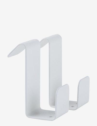 Flex hook  - 2 pcs. - knager & knagerækker - white