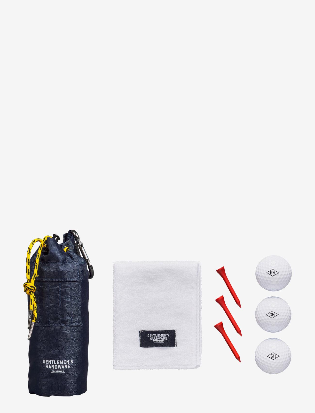 Gentlemen's Hardware - Golfer's Accessories Set - golfutstyr - blue - 1