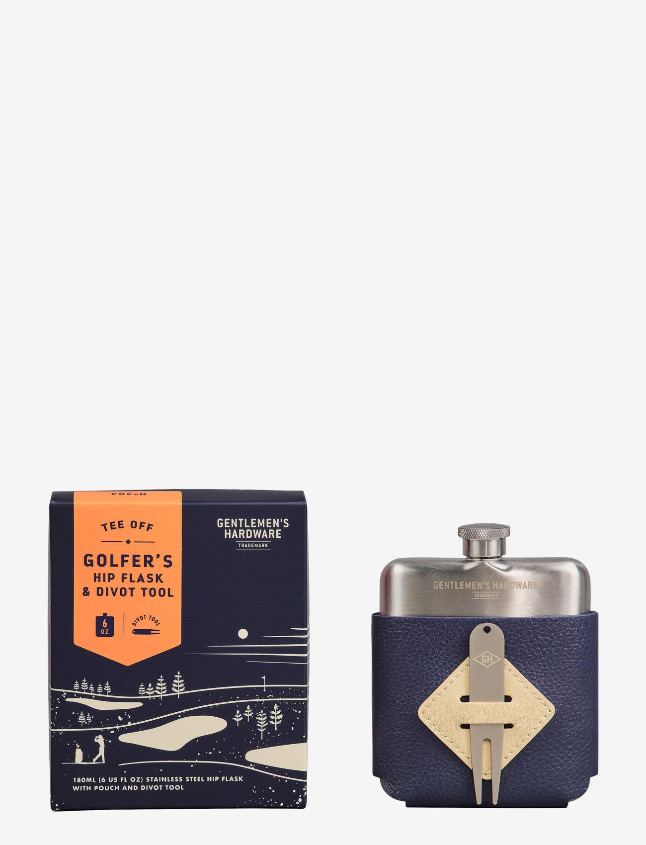 Gentlemen's Hardware - Golfer's Hip Flask & Divot - mellom 300-500 kr - blue - 1