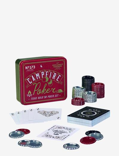 Campfire Poker - shop etter pris - red