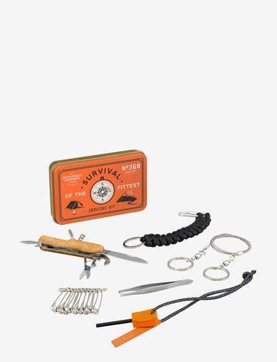 Survival Kit - multiverktøy - orange