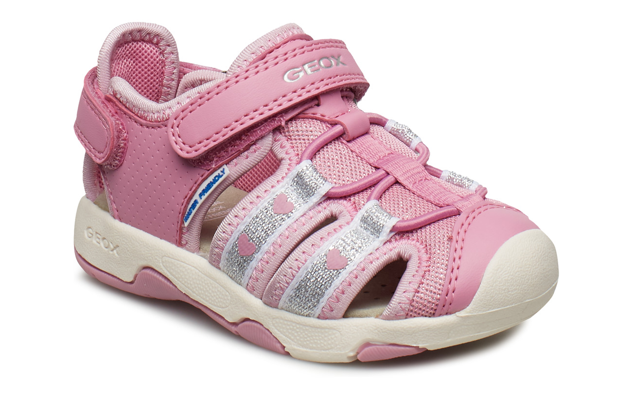 GEOX B SANDAL MULTY GIRL - DARK PINK
