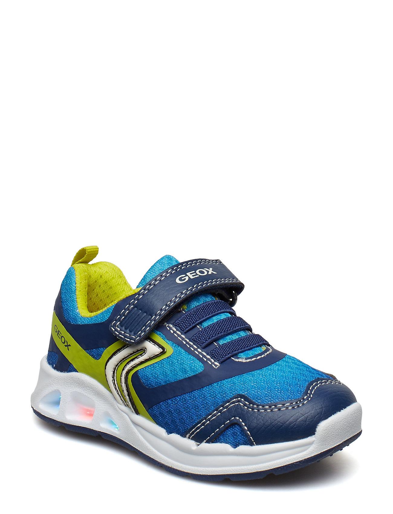 b0940b7577b NAVY/LIME GEOX J Dakin Boy sneakers for børn - Pashion.dk