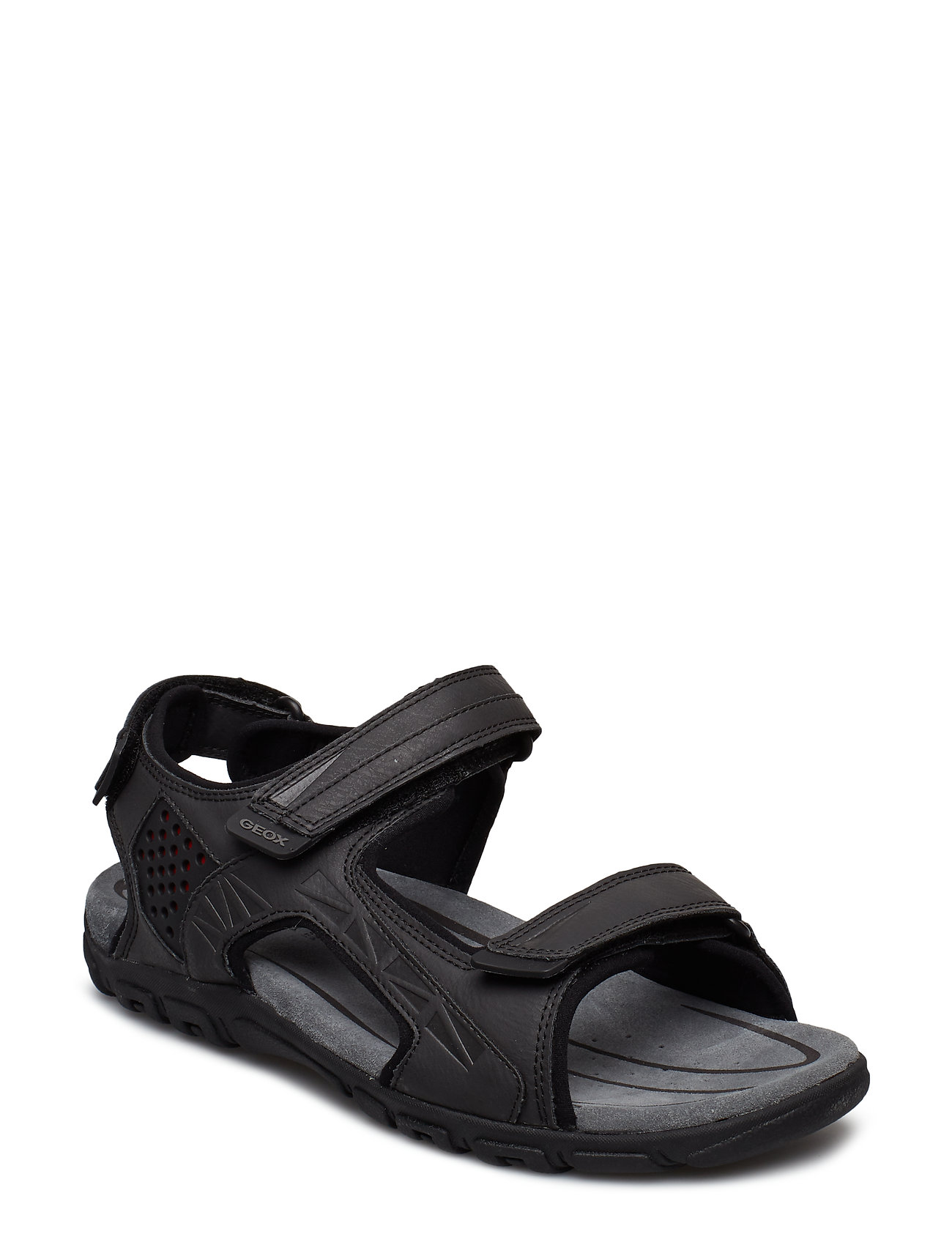 Saca la aseguranza hierro ácido  GEOX U Sandal Strada (Blk Oxford), (51.97 €) | Large selection of  outlet-styles | Booztlet.com
