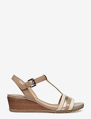 GEOX - D MARYKARMEN - chaussures compensées - med beige - 1