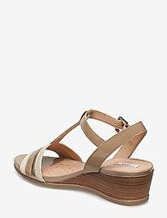 GEOX - D MARYKARMEN - chaussures compensées - med beige - 2