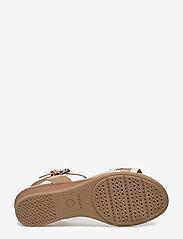 GEOX - D MARYKARMEN - chaussures compensées - med beige - 4