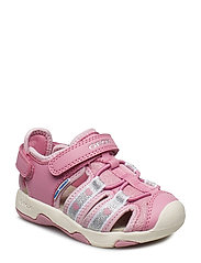 B SANDAL MULTY GIRL - DARK PINK