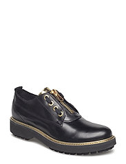 D ASHEELY PLUS B - BLK OXFORD