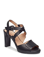 D ANNYA HIGH SANDAL - BLK OXFORD