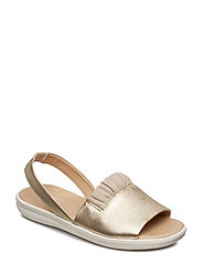 D JEARL SANDAL - GOLD/BROWN