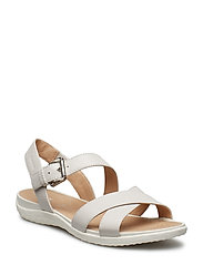 D SANDAL VEGA - OFF WHITE