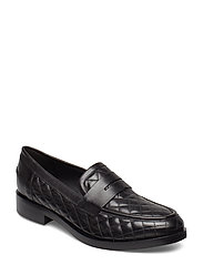 DONNA BROGUE A - BLK OXFORD
