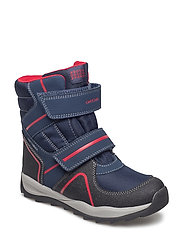 J ORIZONT BOY ABX B - NAVY/RED