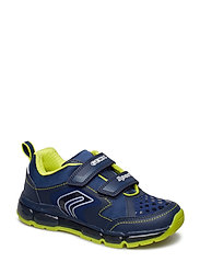 J ANDROID BOY A - NAVY/LIME