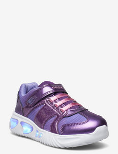 J ASSISTER GIRL A - laag sneakers - violet/pin