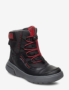 J SVEGGEN BOY B ABX - bottes d'hiver - black red
