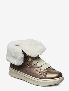 J DISCOMIX GIRL B - bottes d'hiver - dark beige