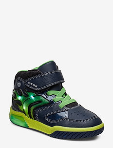 J INEK BOY C - NAVY/LIME