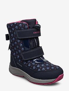 J KURAY GIRL B ABX A - vinter boots - navy