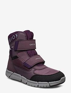 J FLEXYPER GIRL B AB - bottes d'hiver - med purple