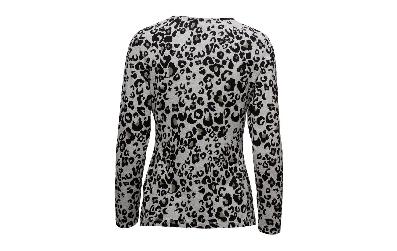 Green black 5 shirt Edition 95 Viscose Elastane Weber Long Print sleeve T Gerry qtanY5Px0w