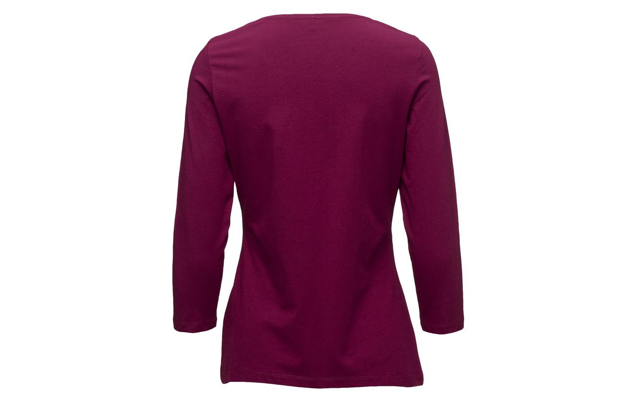sleeve Elastane R T Edition 5 white Off shirt 95 Coton Gerry Weber 3 4 pOwYw