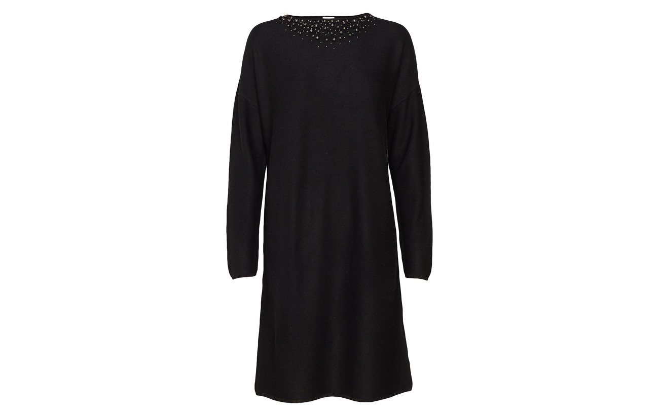 Gerry Knitwear Laine Dress Edition 50 Black Weber Acrylique rwr8gO