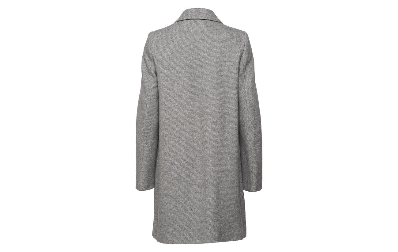 Edition Weber Polyamide black 12 Coton Gerry Wool 46 Coat 42 Laine Grey nxRgZF