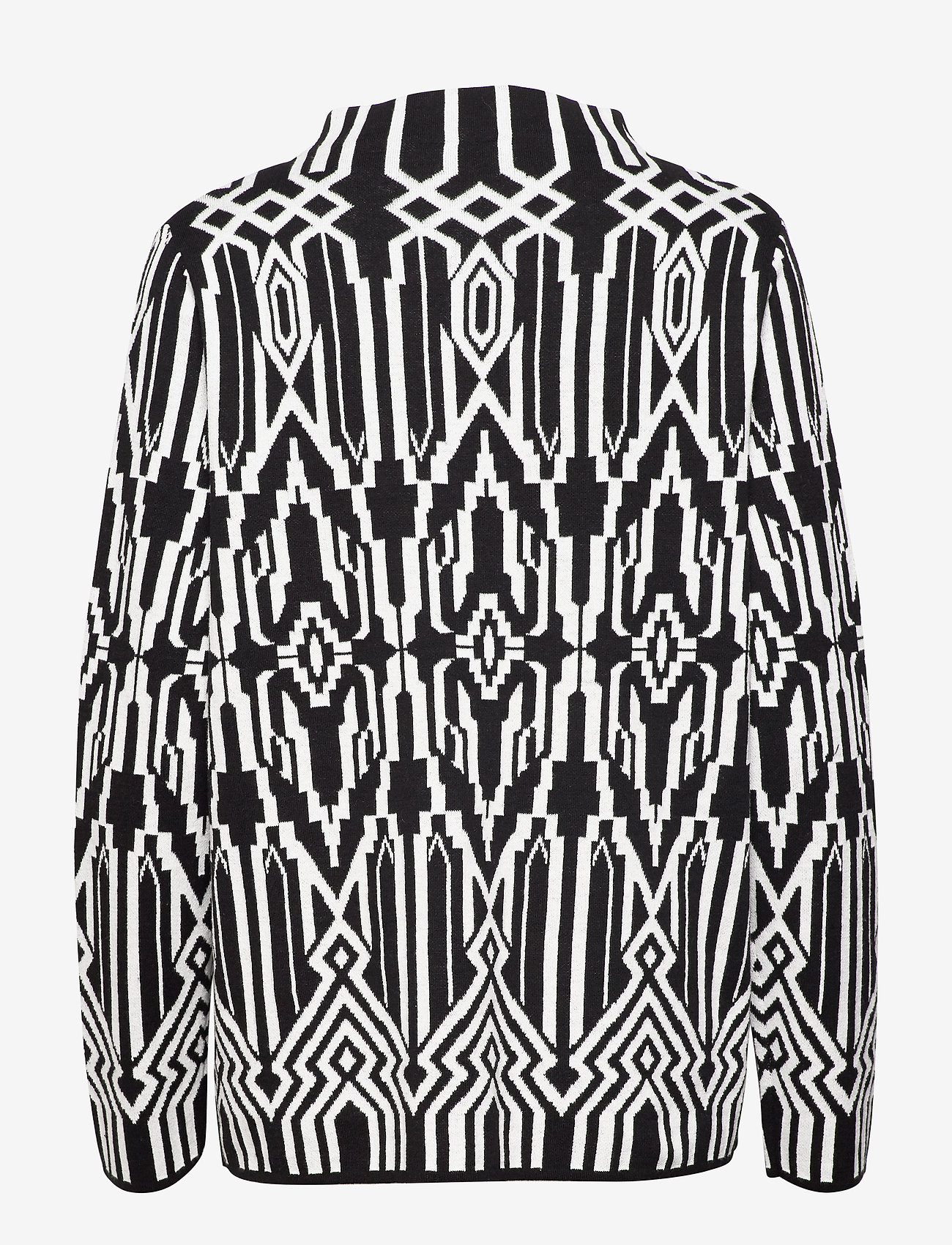 Pullover Long-sleeve (Black/ecru/white Figured) - Gerry Weber Edition 8tEAdW