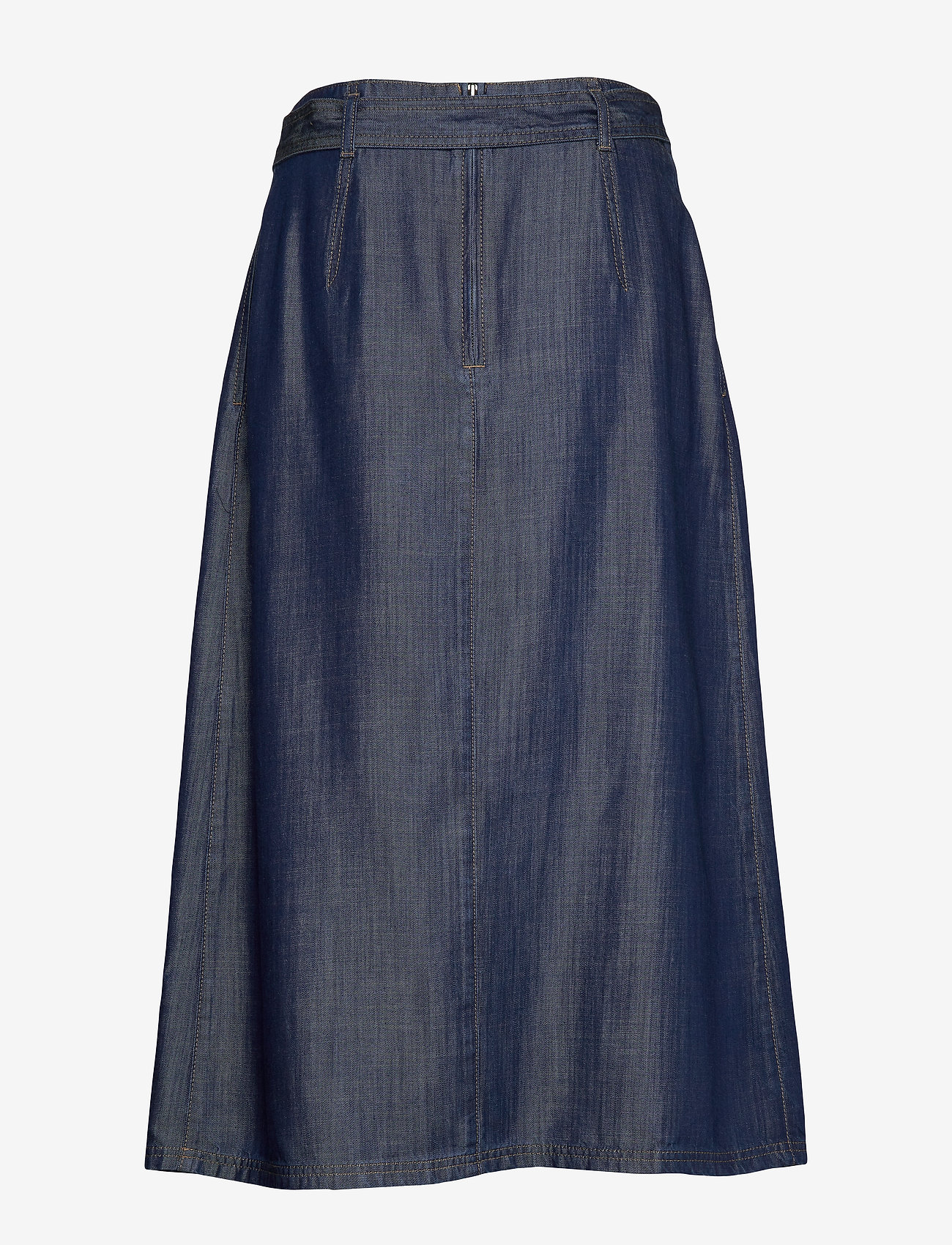 Gerry Weber Edition - SKIRT SHORT WOVEN FA - jeansowe spódnice - vintage indigo - 1