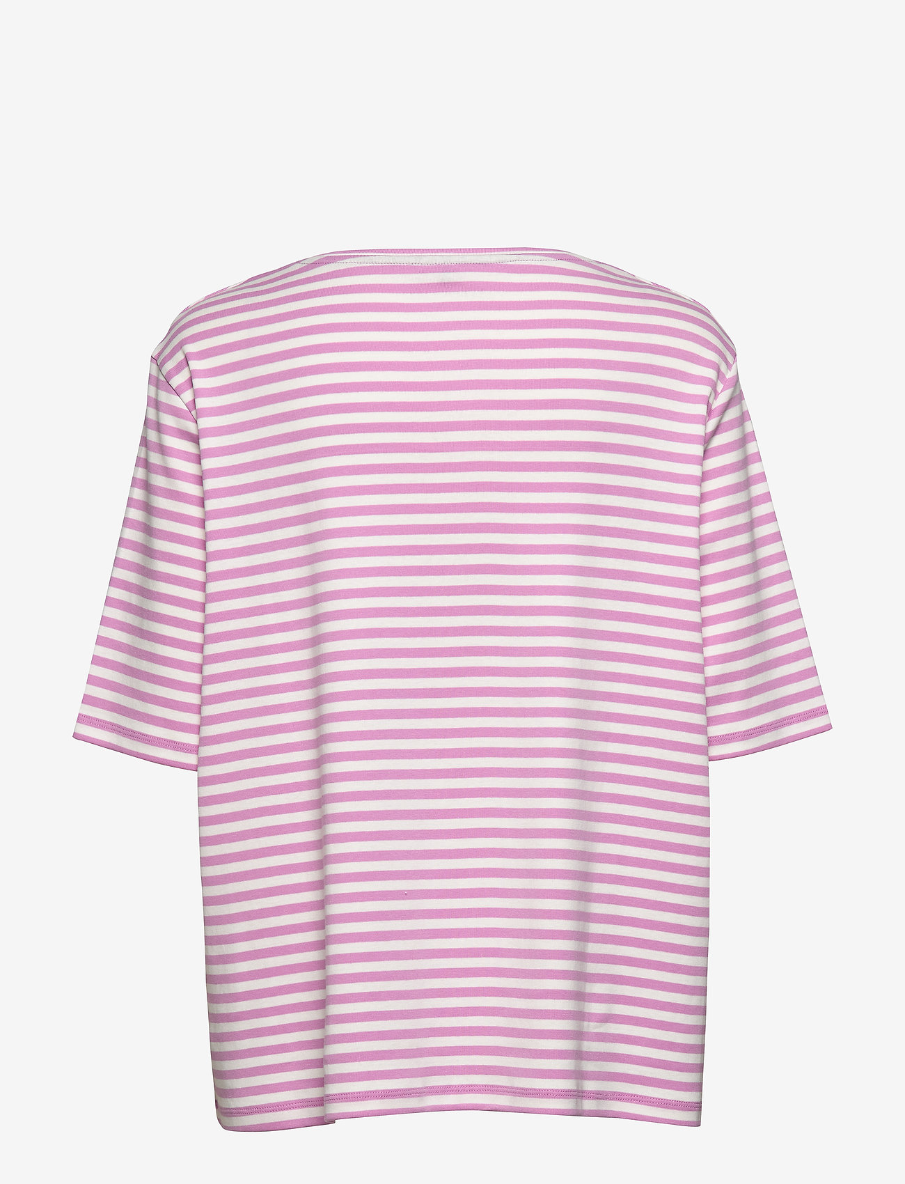 Gerry Weber Edition T-SHIRT SHORT-SLEEVE - T-shirty i zopy LILAC/PINK/ECRU/WHITE HOOPS - Kobiety Odzież.
